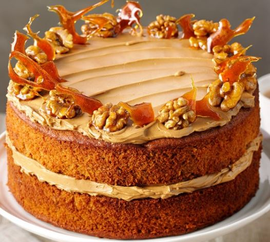 Lyle's Coffee and Walnut Cake