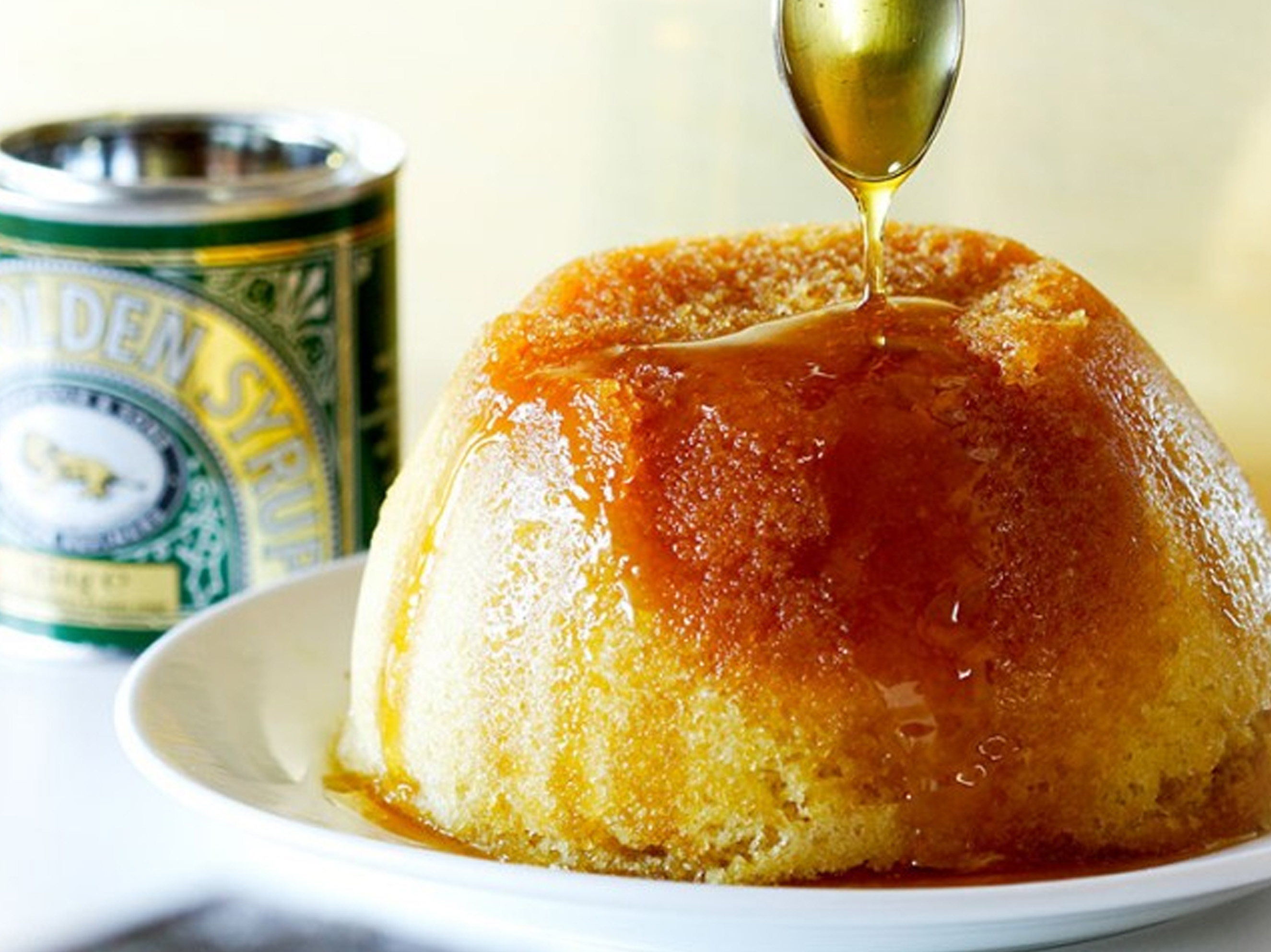 Lyle's Steamed Syrup Sponge Pudding