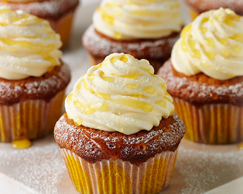 Lyle's good-and-syrupy cupcakes