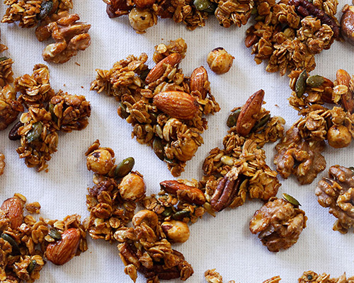 Lyle's great granola crunch