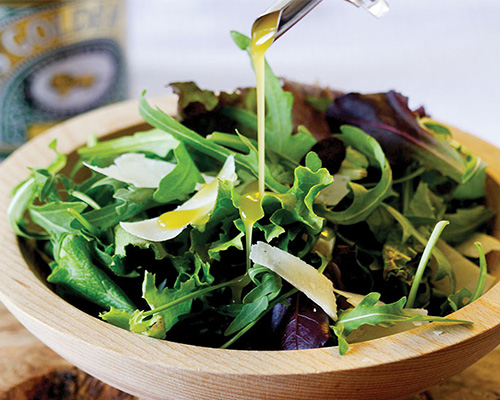 Lyle's tangy salad dressing