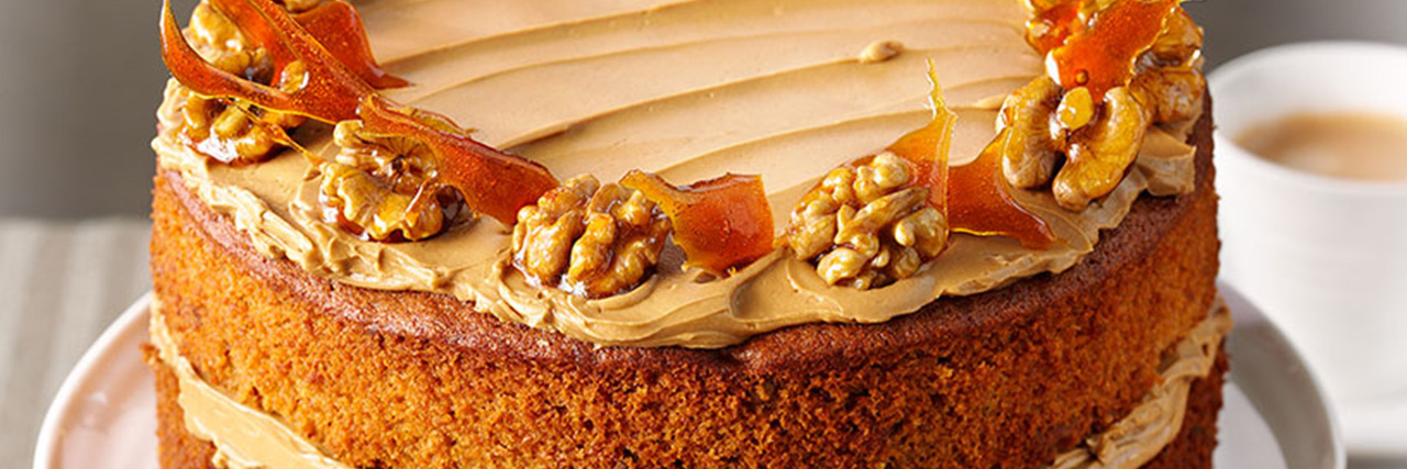 Lyle S Coffee And Walnut Cake Lyle Golden Syrup
