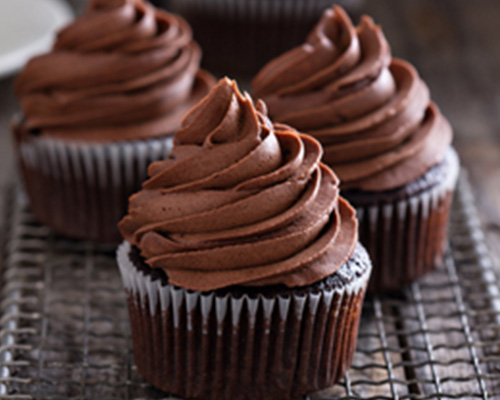 Chocolatey Fudge Cupcakes