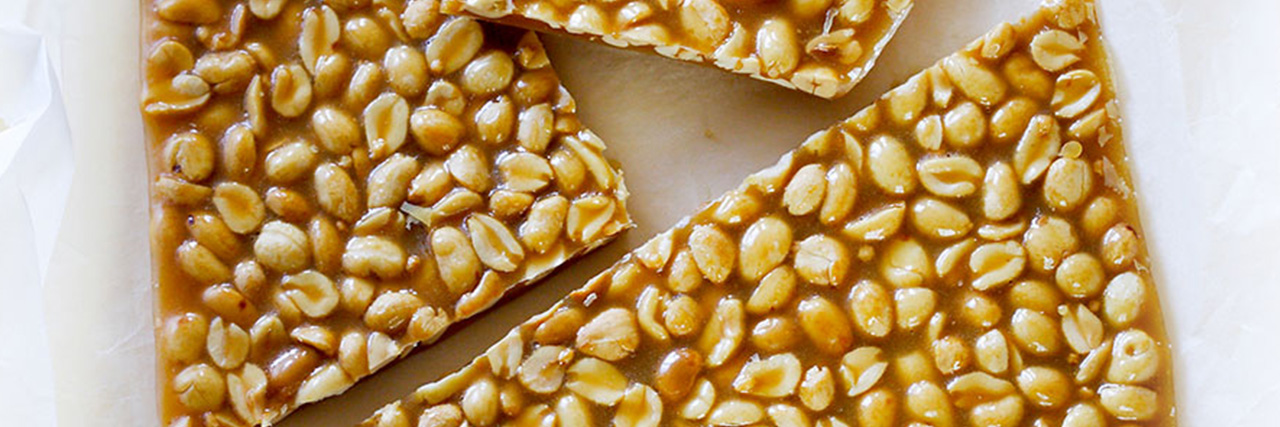 Lyle's Cracking Peanut Brittle