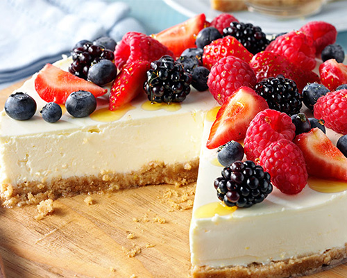 Lyle's Tangy Lemon Cheesecake