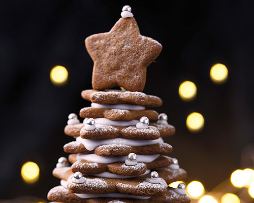 Lyle's Gingerbread Christmas Tree