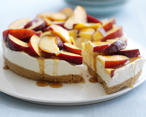 Lyle's Peach and Caramel Cheesecake