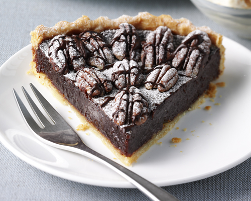 Lyle's Chocolate and Pecan Tart