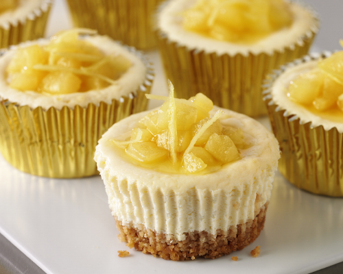 Lyle's Cheesecake Cupcakes