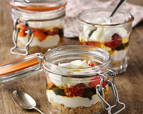 Cheesecake Picnic Puds