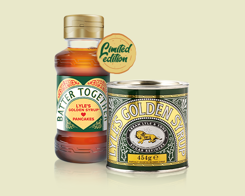 Cherish Golden Moments this Pancake Day with Lyle's Golden Syrup